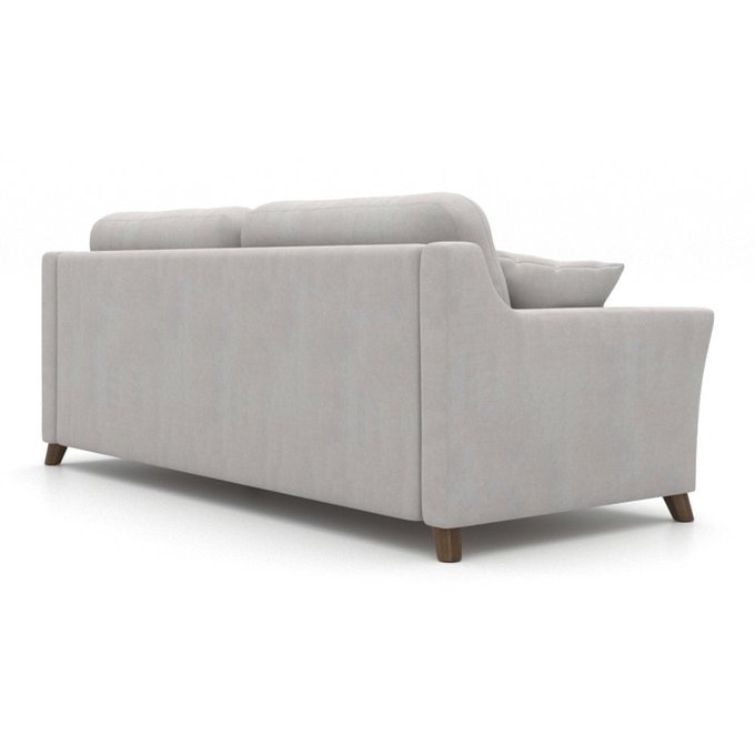 Диван-кровать Raf EKL трехместный светло-серый