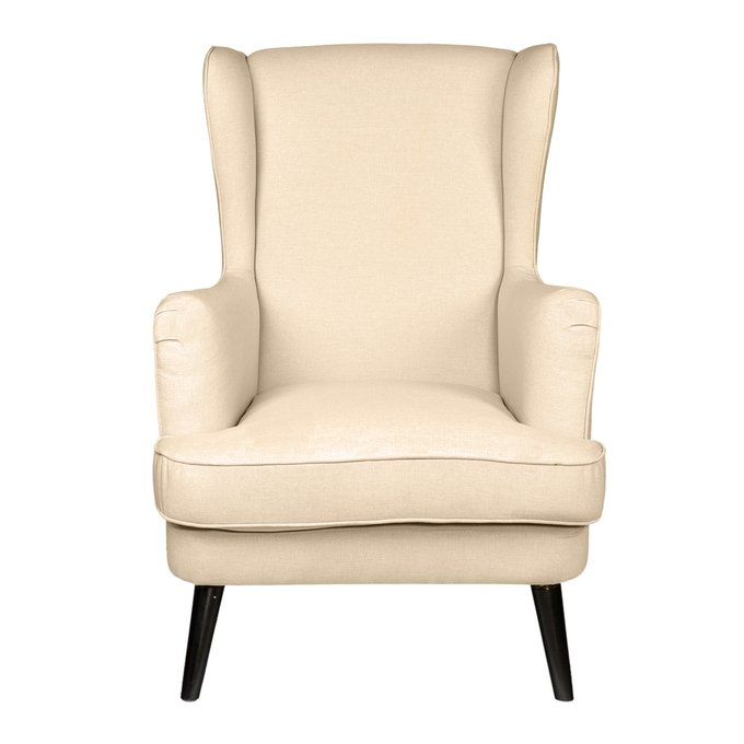 Кресло Agatha Christie Молочное