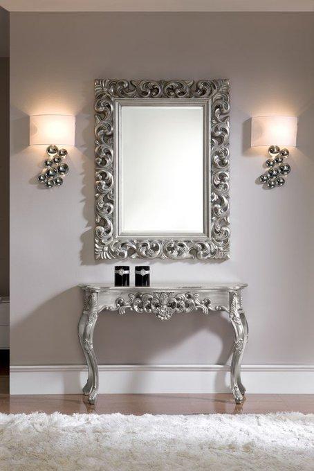 Зеркало Silver в ажурной раме