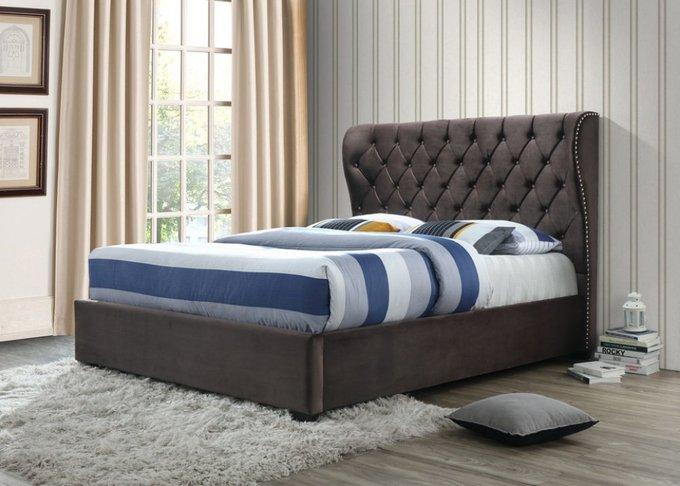 Двухспальная кровать  с ящиком для белья 160х200