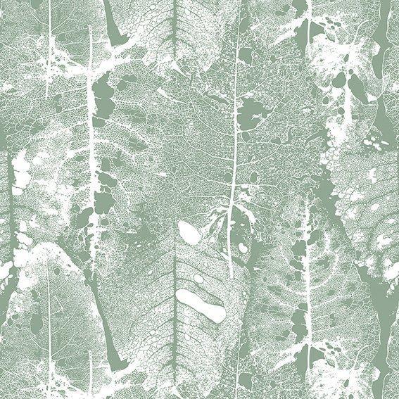 Обои Ажурный лист на флизелиновой основе