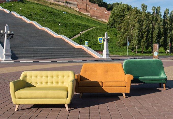 Прямой диван Olivette М с отделкой пуговицы