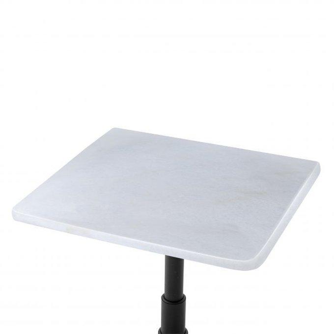 Стол обеденный Mercier Square с мраморной столешницей