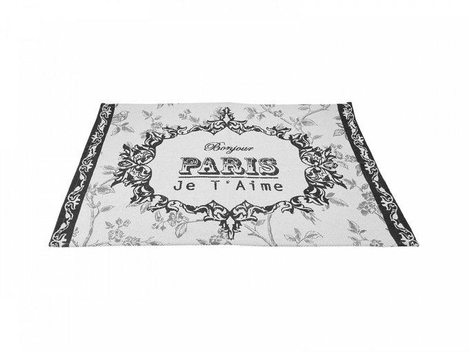 Коврик Paris светло-серого цвета 60х90