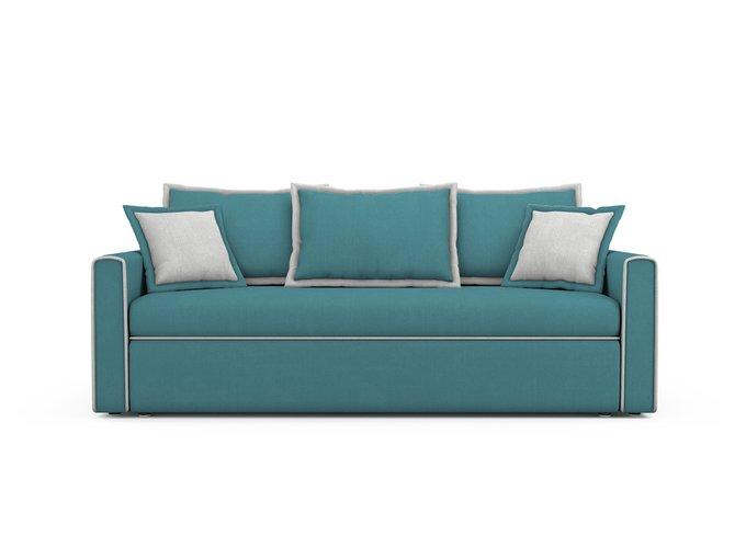 Диван-кровать Franz бирюзового цвета