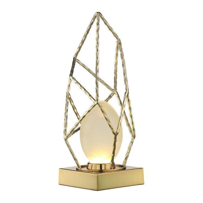 Настольная лампа Naomi Gold золотого цвета