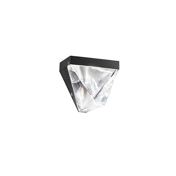 """Настенный светильник с плафоном из прозрачного хрусталя Fabbian """"Tripla"""""""