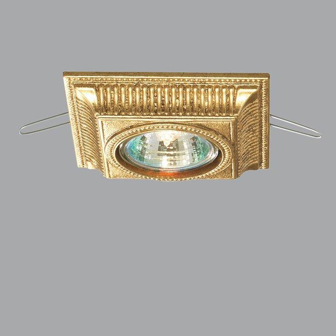 Встраиваемый светильник  Lucienne Monique gold из металла