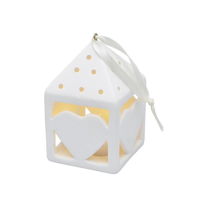 Светодиодный декор с подсветкой Olina из керамики