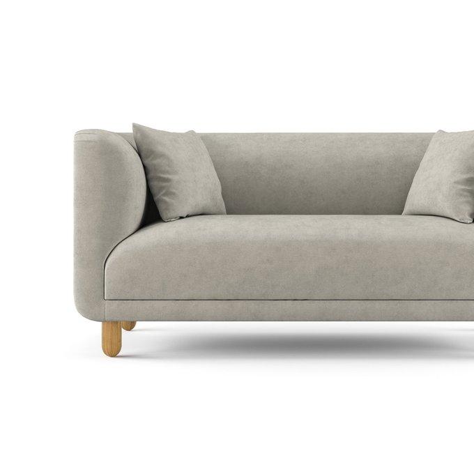 Двухместный диван Tribeca серого цвета
