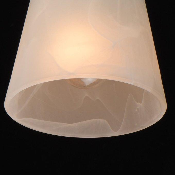 Потолочная люстра Тетро с белыми плафонами