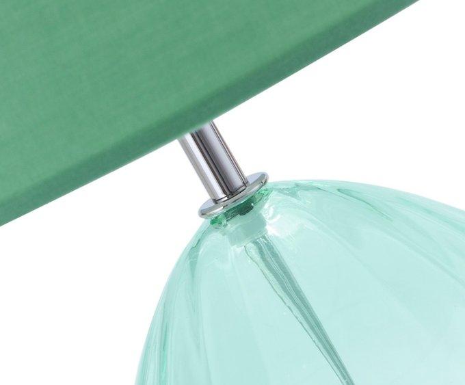 Настольная лампа мятного цвета