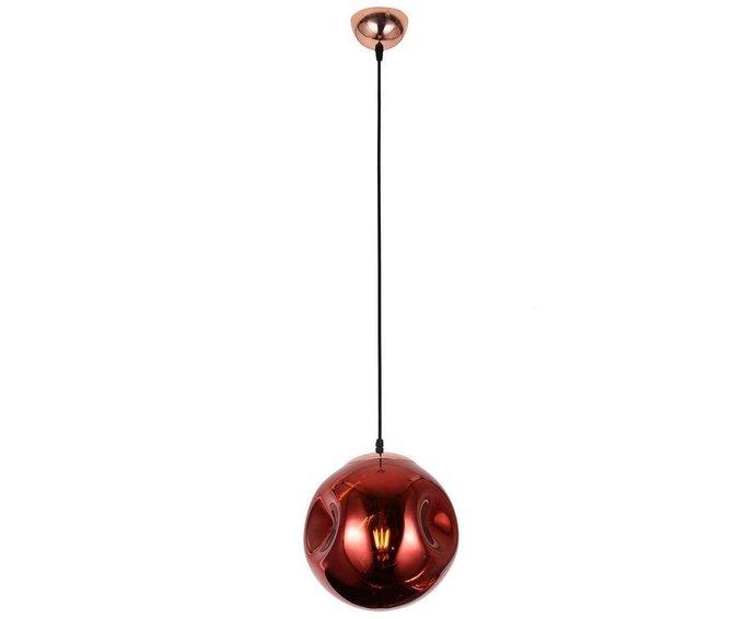 Подвесной светильник Пейто красного цвета