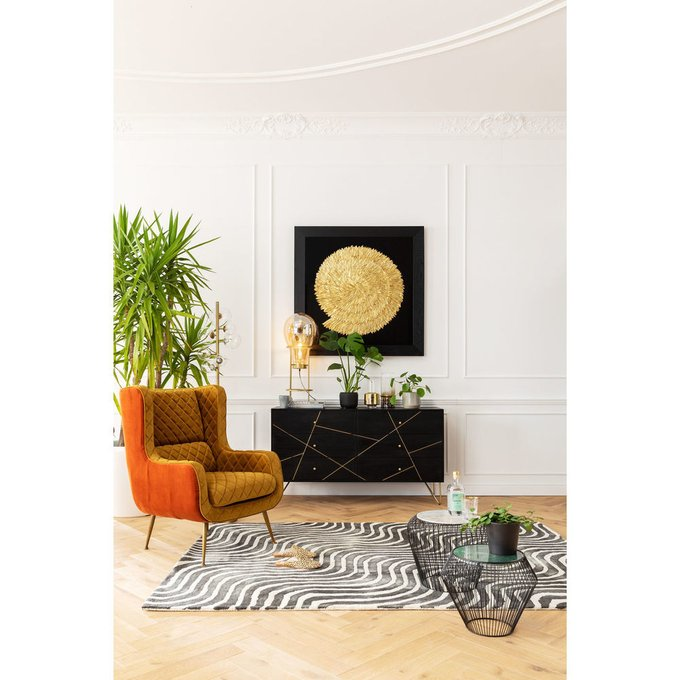 Кресло Nona оранжевого цвета