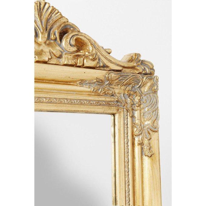 Зеркало напольное Baroque золотого цвета