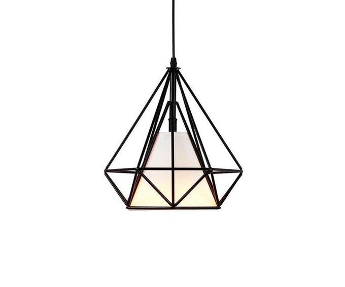 Подвесной светильник Ринетта из металла и пластика