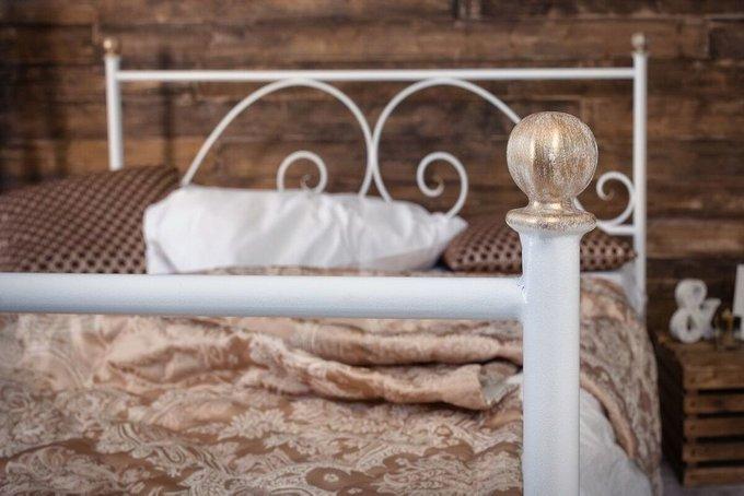 Кованая кровать Анталия 1.8 с одной спинкой 180х200