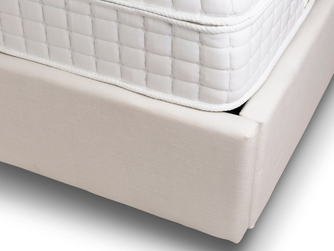 Кровать Dante бежевого цвета 180х200