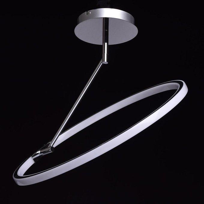 Подвесной светодиодный светильник Платлинг из металла и пластика