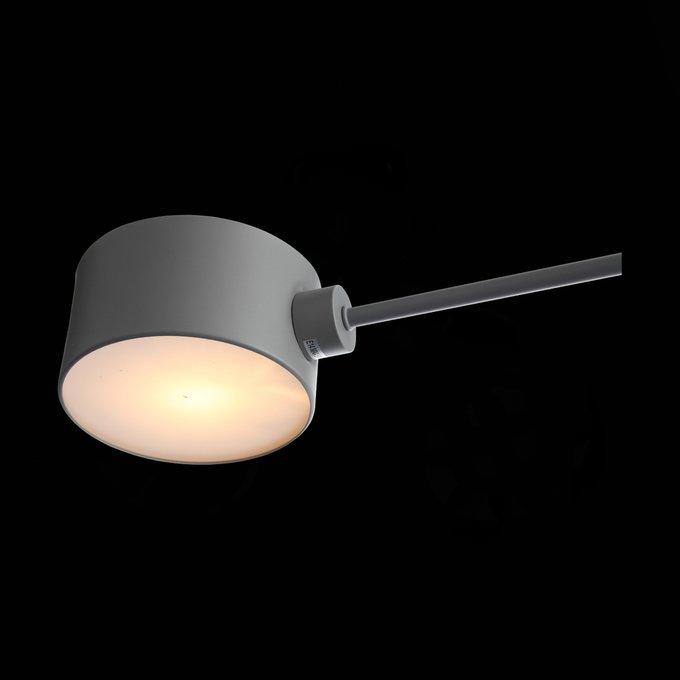 Светильник потолочный Gimento серого цвета