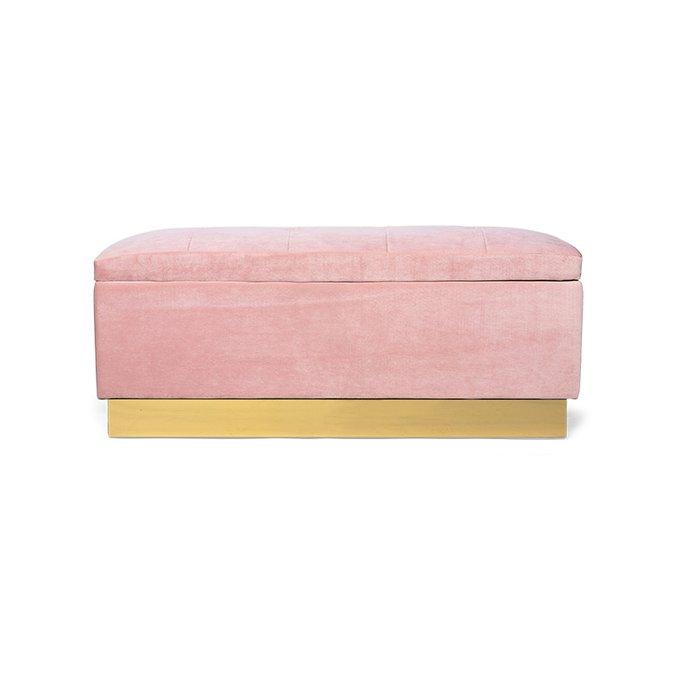 Банкетка Amy Case розового цвета