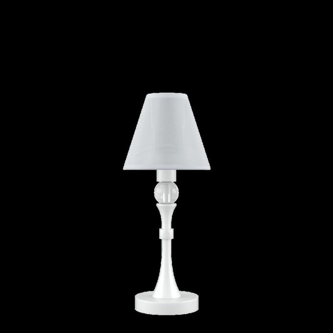 Настольная лампа Eclectic белого цвета