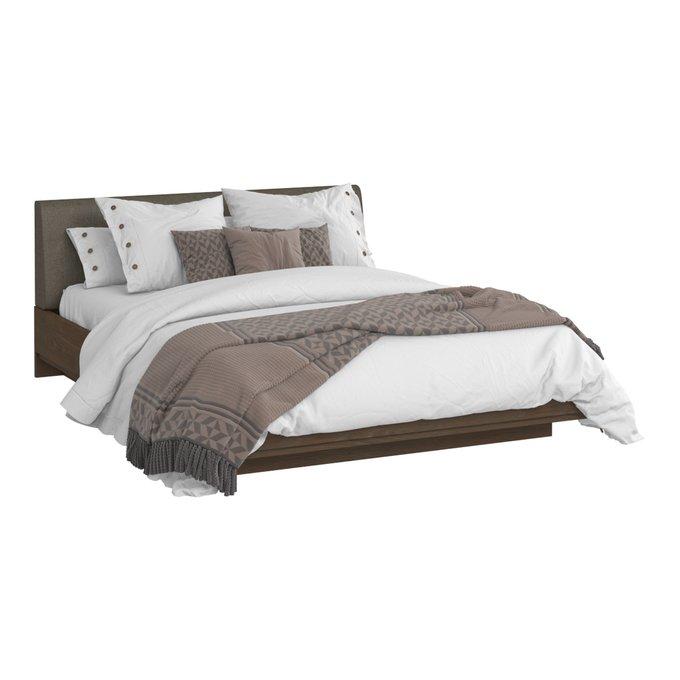 Кровать Сиена 180х200 с серым изголовьем и подъемным механизмом