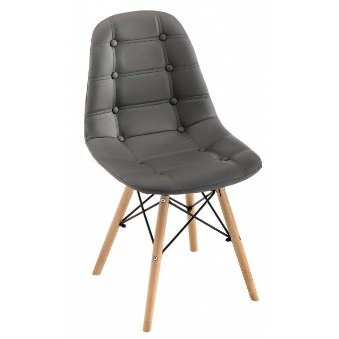 Обеденный стул Kvadro серого цвета