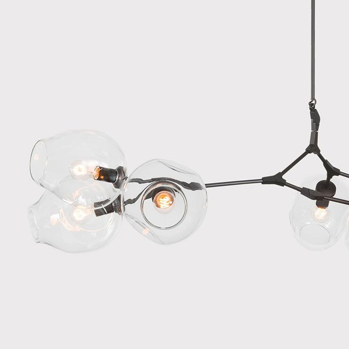 Подвесной светильник Bubble с прозрачными плафонами