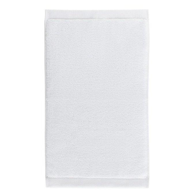 Полотенце для рук из хлопка белого цвета
