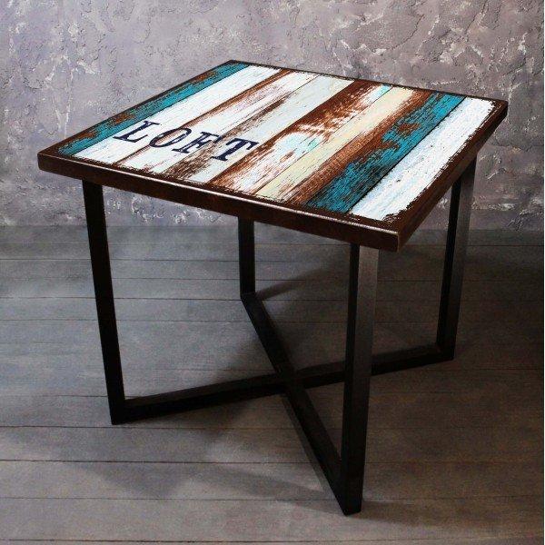 Обеденный стол Old boat из массива сосны
