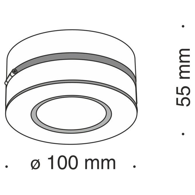 Потолочный светильник Alivar из алюминия