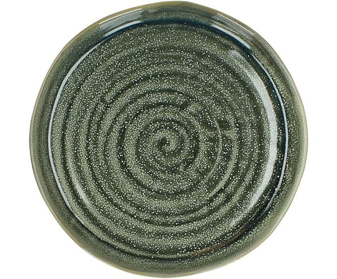 Тарелка из каменной керамики