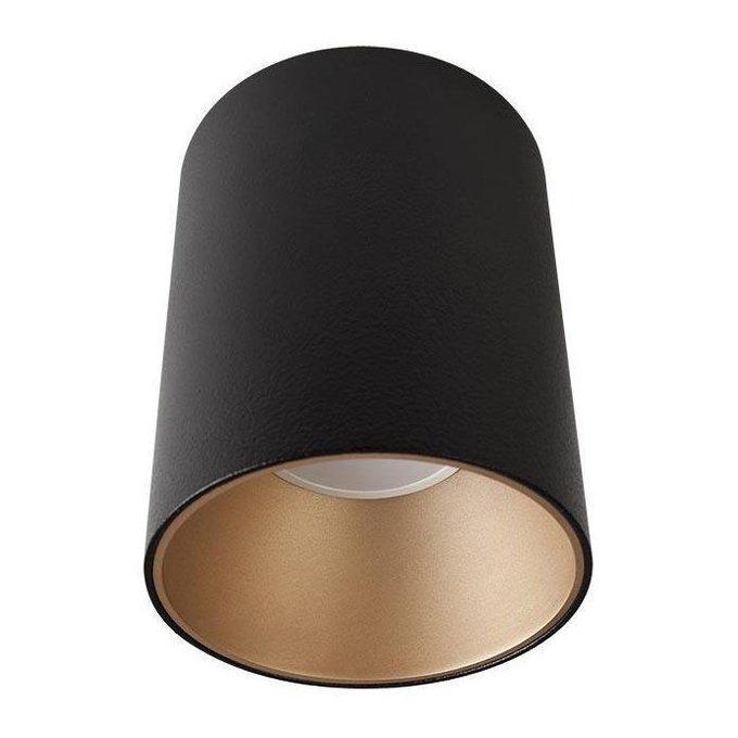 Потолочный светильник Eye Tone черно-бронзового цвета
