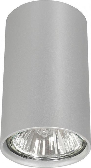 Потолочный светильник Eye серебряного цвета