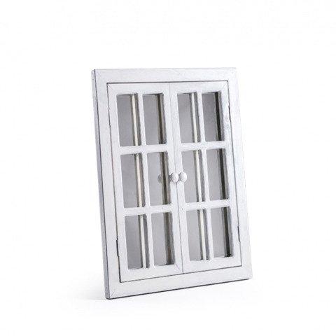 Зеркало-окно La Villa белое