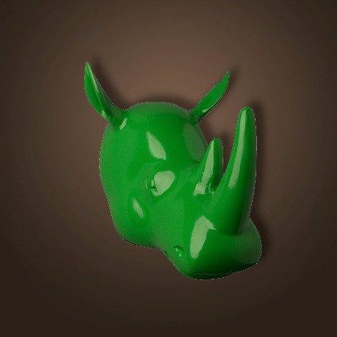 Голова носорога  ROOMERS