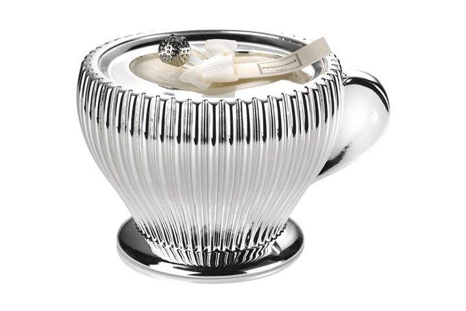 Декоративная свеча Capuccino из полирезины и воска