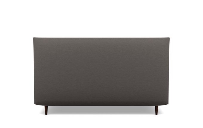 Кровать Эмбер 180х200 темно-серого цвета