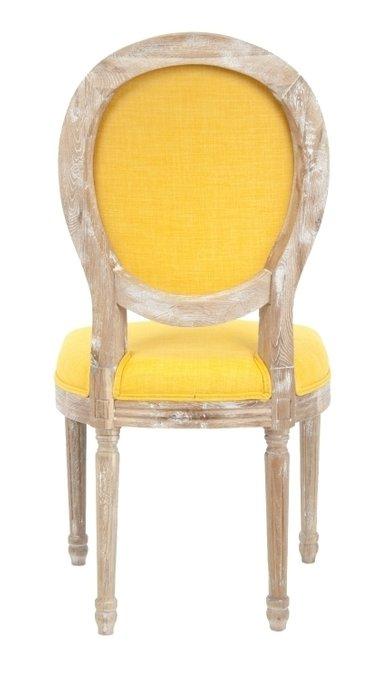 Стул Miro Yellow с мягкой обивкой