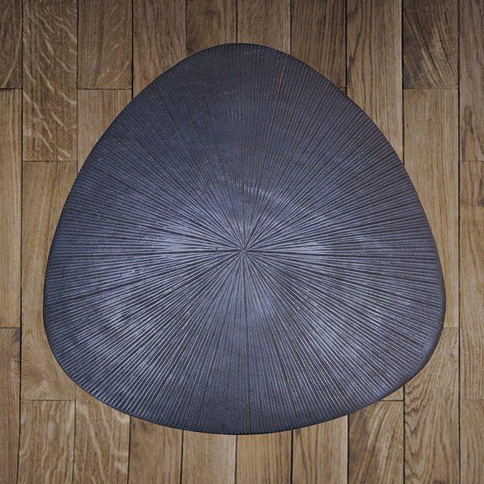 Стол приставной черного цвета
