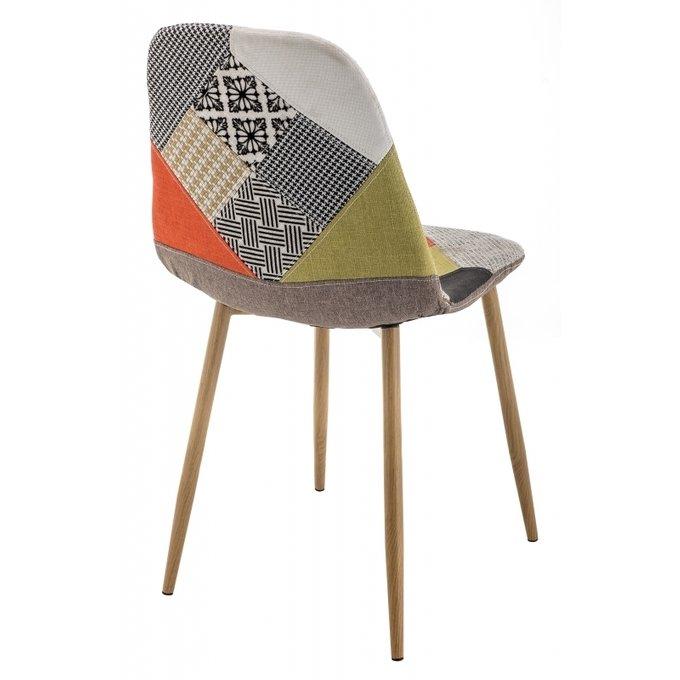Обеденный стул Mixit multicolor на металлических ножках