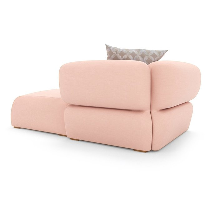 Модуль двухместный Fly светло-розового цвета