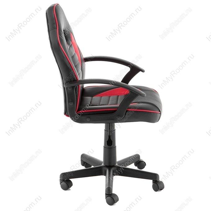 Офисное кресло Danger черно/красного цвета