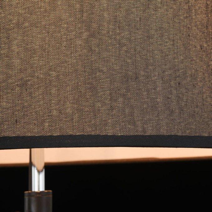 Торшер Monic с черным абажуром