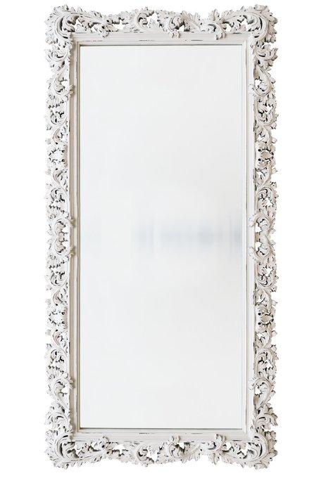 Напольное Зеркало белое
