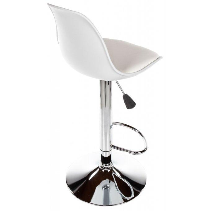 Барный стул Soft белого цвета