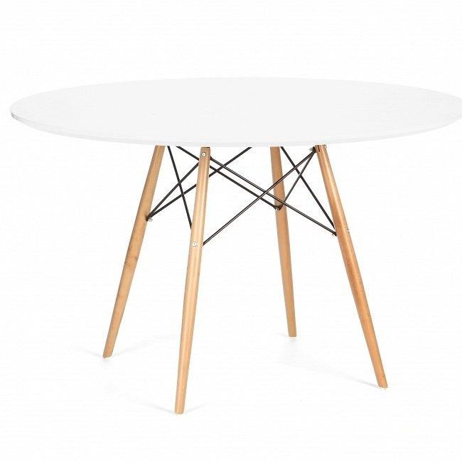 Обеденный круглый стол Conundrum с ламинированной столешницей