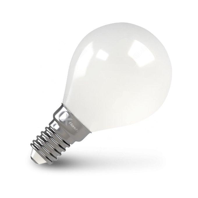 Светодиодная лампа матовая белого цвета