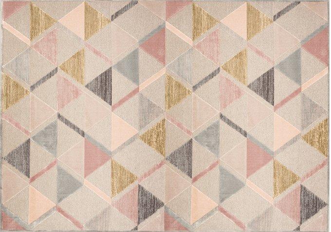 Ковер Origami с геометрическим узором 80x125